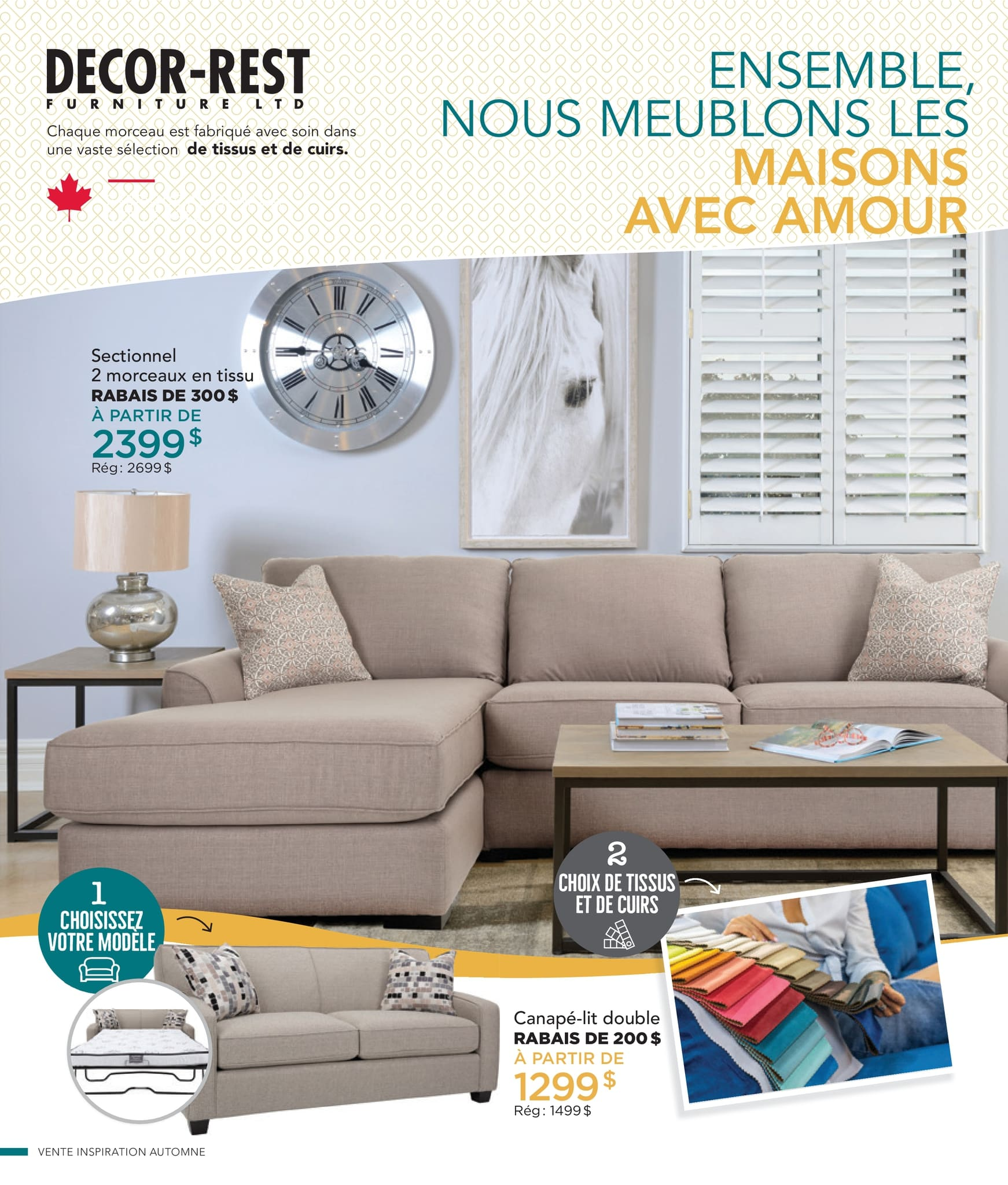 Circulaire Ameublement BrandSource Poulin du  1 au 18 octobre 2021 - Page 4