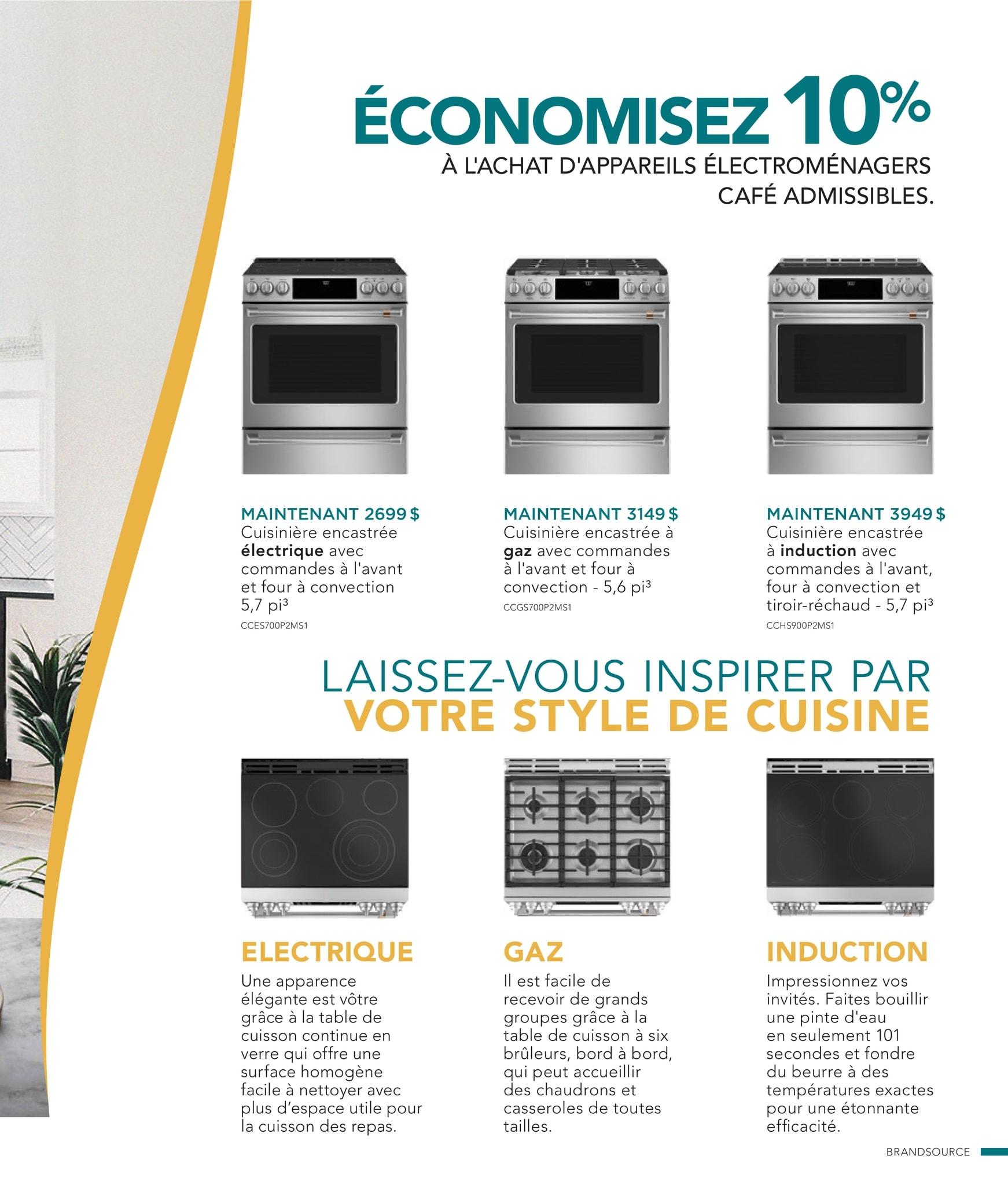 Circulaire Ameublement BrandSource Poulin du  1 au 18 octobre 2021 - Page 20