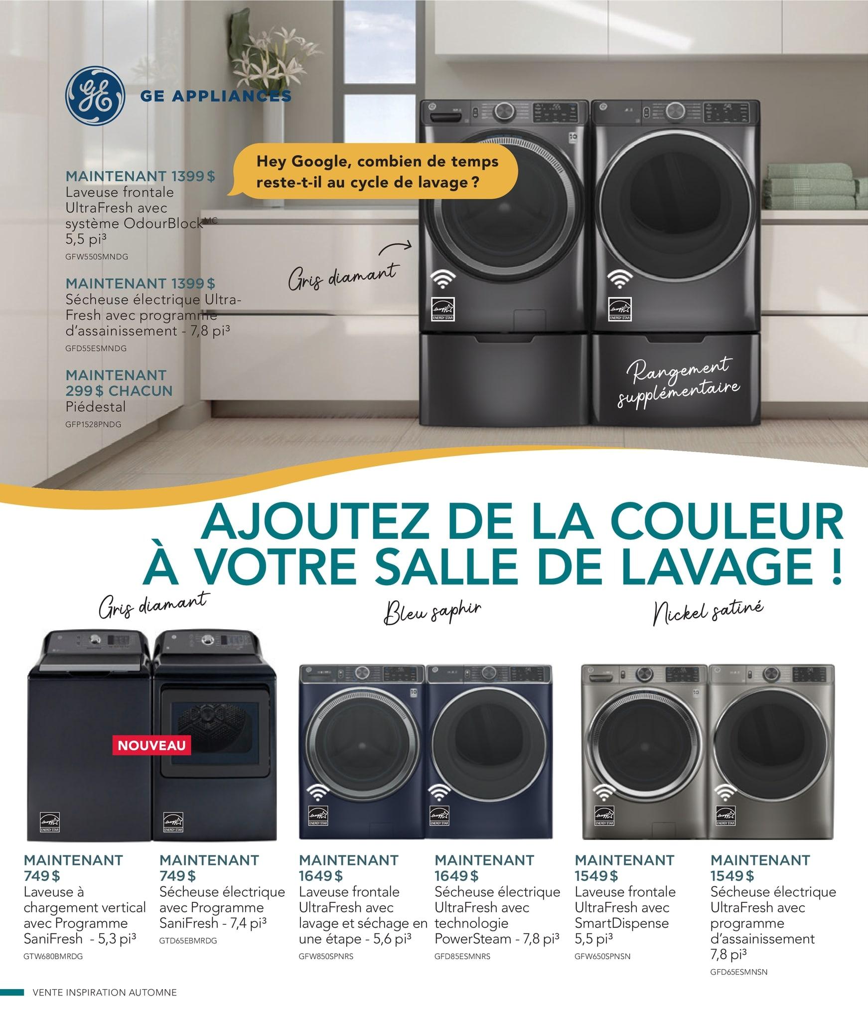 Circulaire Ameublement BrandSource Poulin du  1 au 18 octobre 2021 - Page 21