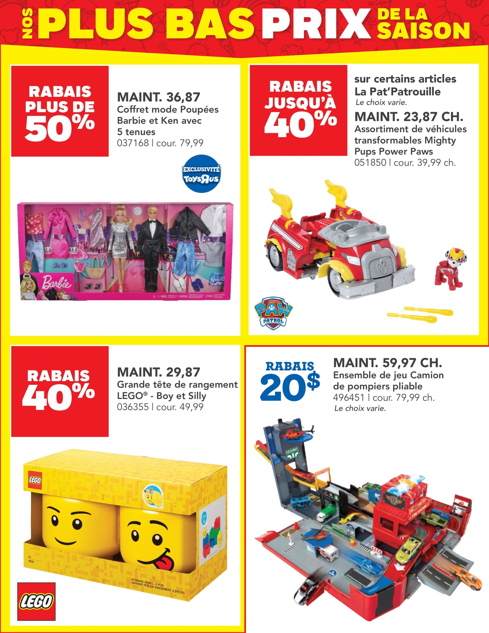 Circulaire Toys 'R' us du 14 au 27 octobre 2021 - Page 2