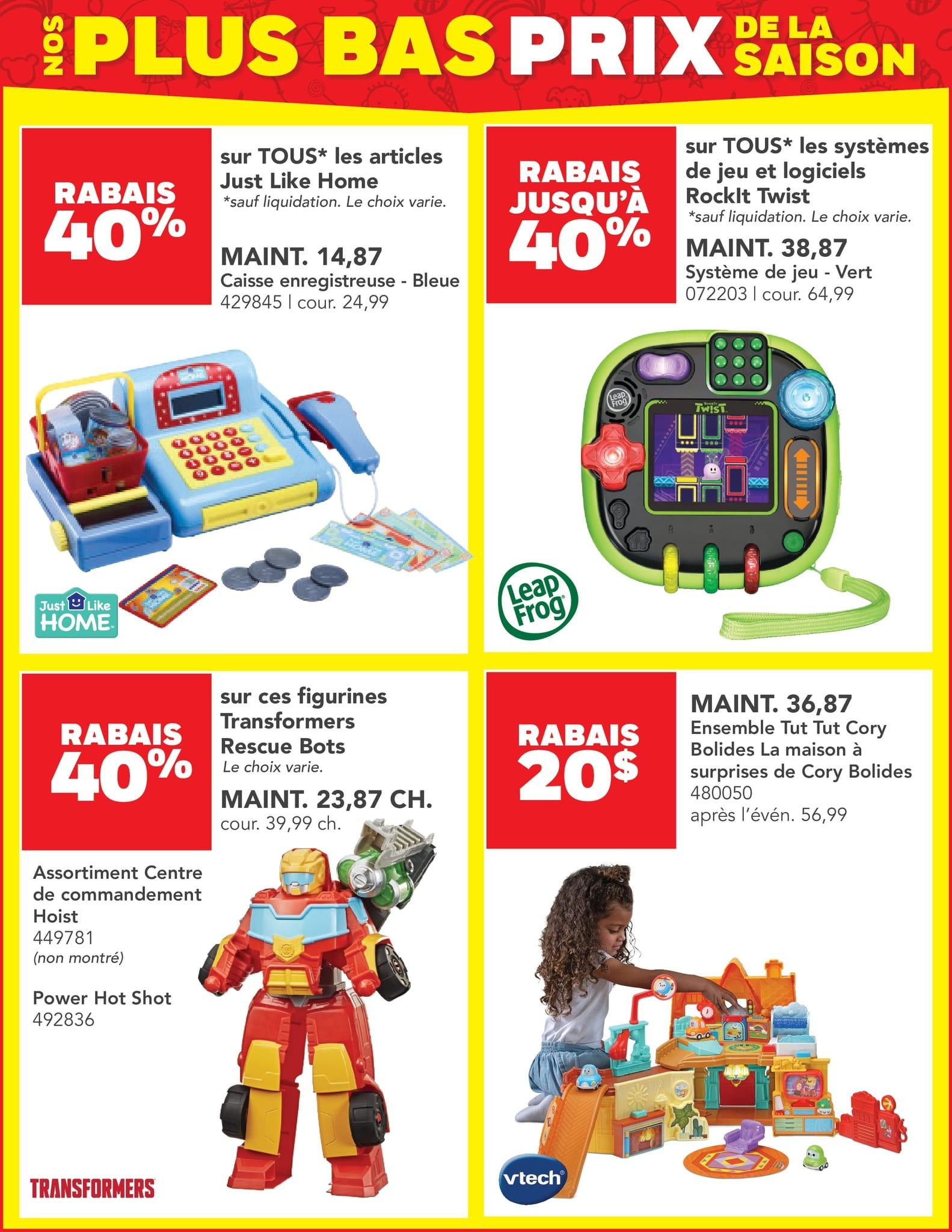 Circulaire Toys 'R' us du 14 au 27 octobre 2021 - Page 3