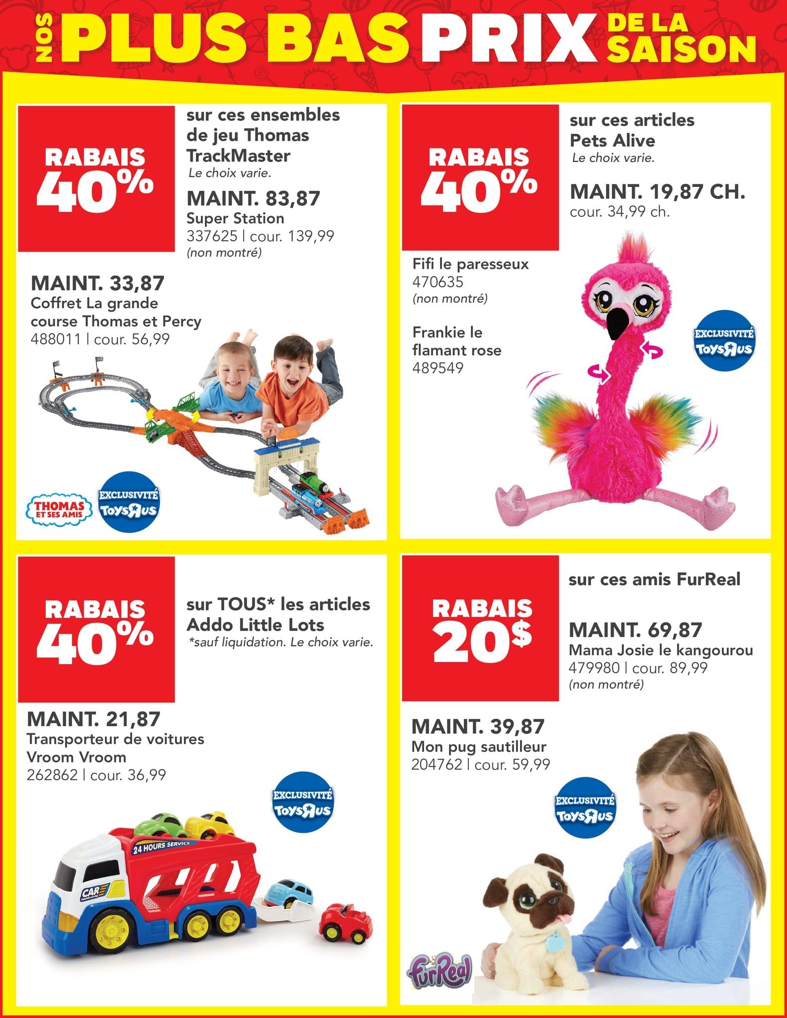 Circulaire Toys 'R' us du 14 au 27 octobre 2021 - Page 4