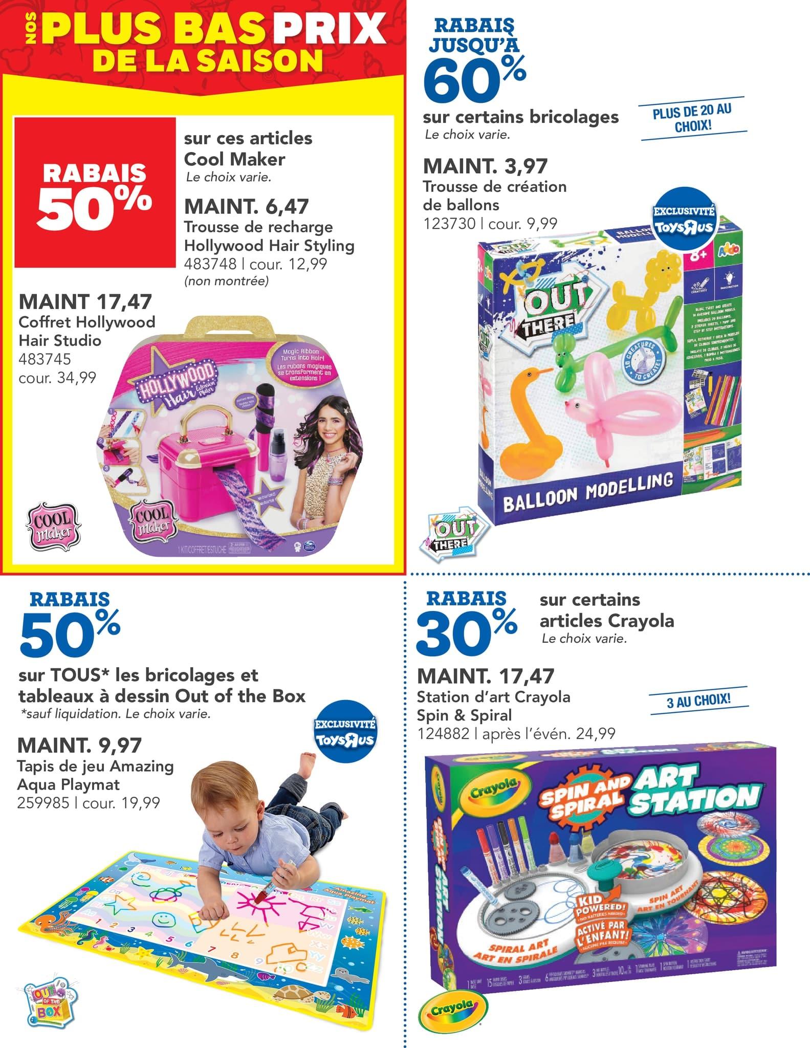 Circulaire Toys 'R' us du 14 au 27 octobre 2021 - Page 7