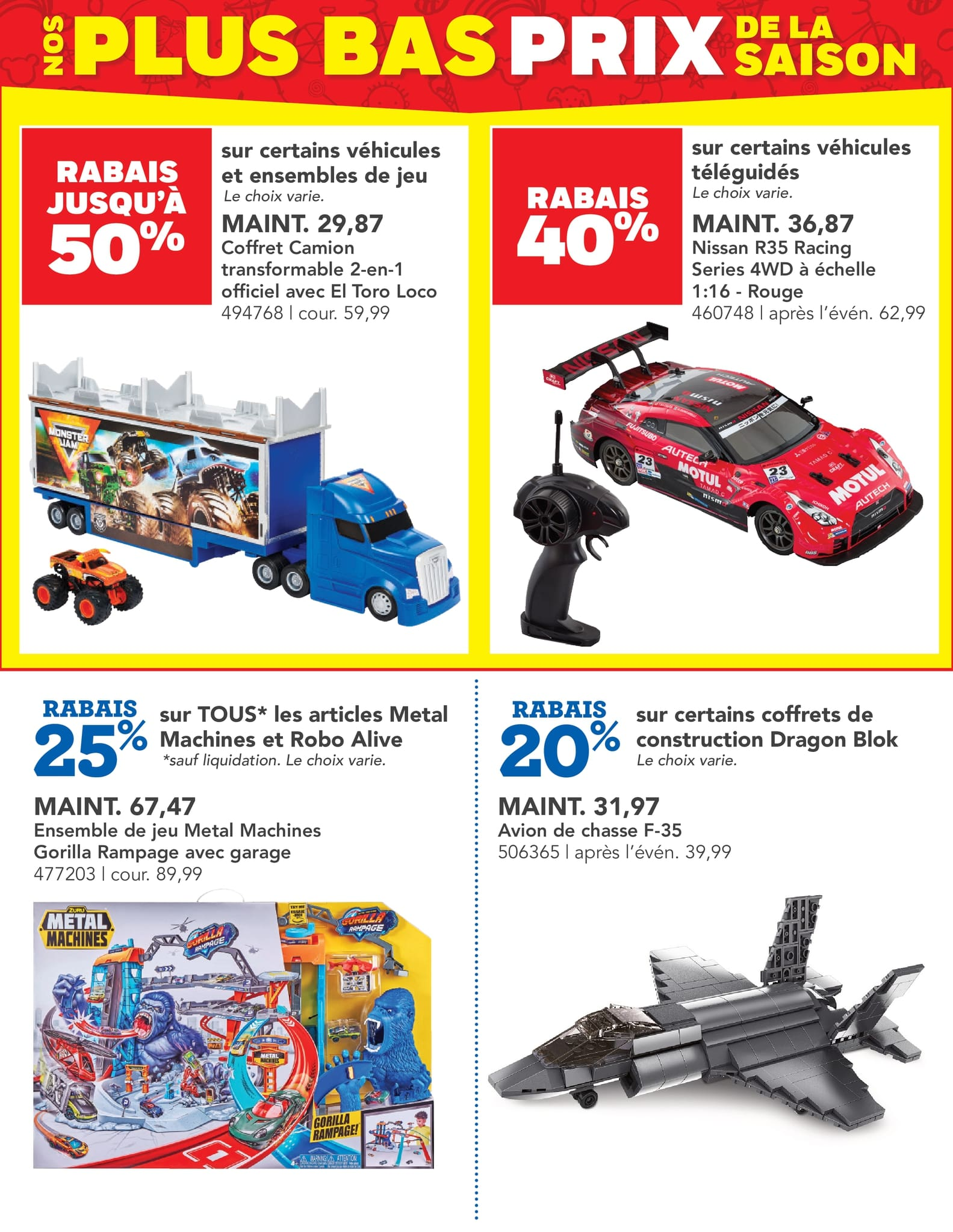 Circulaire Toys 'R' us du 14 au 27 octobre 2021 - Page 10