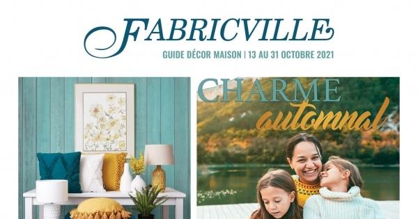 Image de la Promotion Circulaire Fabricville du 13 au 31 octobre 2021