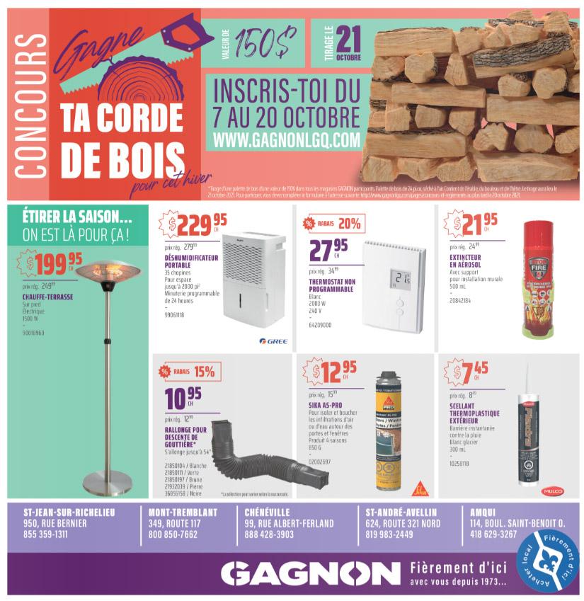 Circulaire Gagnon - La Grande Quincaillerie du 14 au 20 Octobre 2021 - Page 4