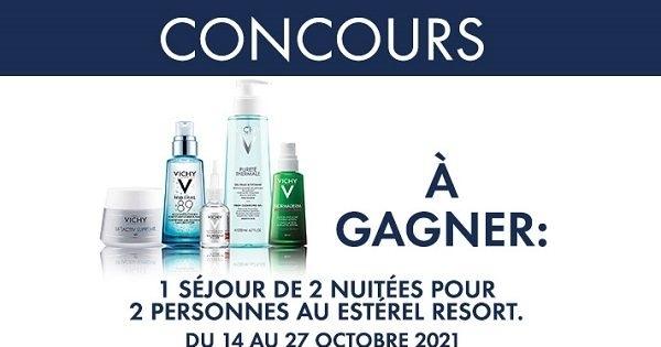 Concours Gagnez un Séjour de 2 Nuitées pour Deux Personnes au Estérel Resort!