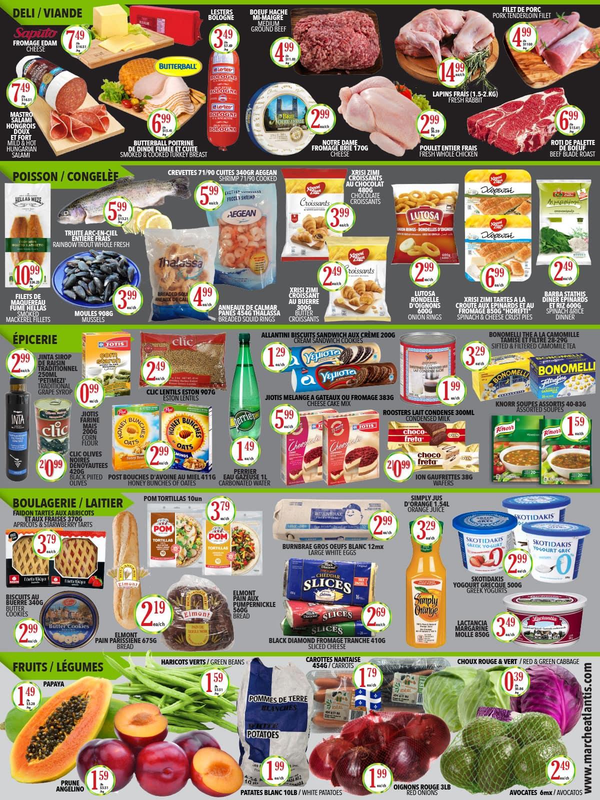 Circulaire Supermarché Atlantis du 14 au 20 octobre 2021 - Page 2