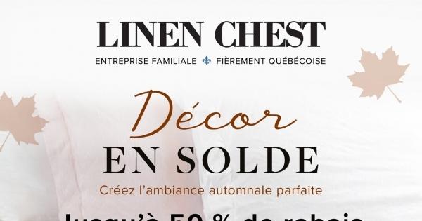 Image de la Promotion Circulaire Linen Chest du 19 au 31 Octobre 2021