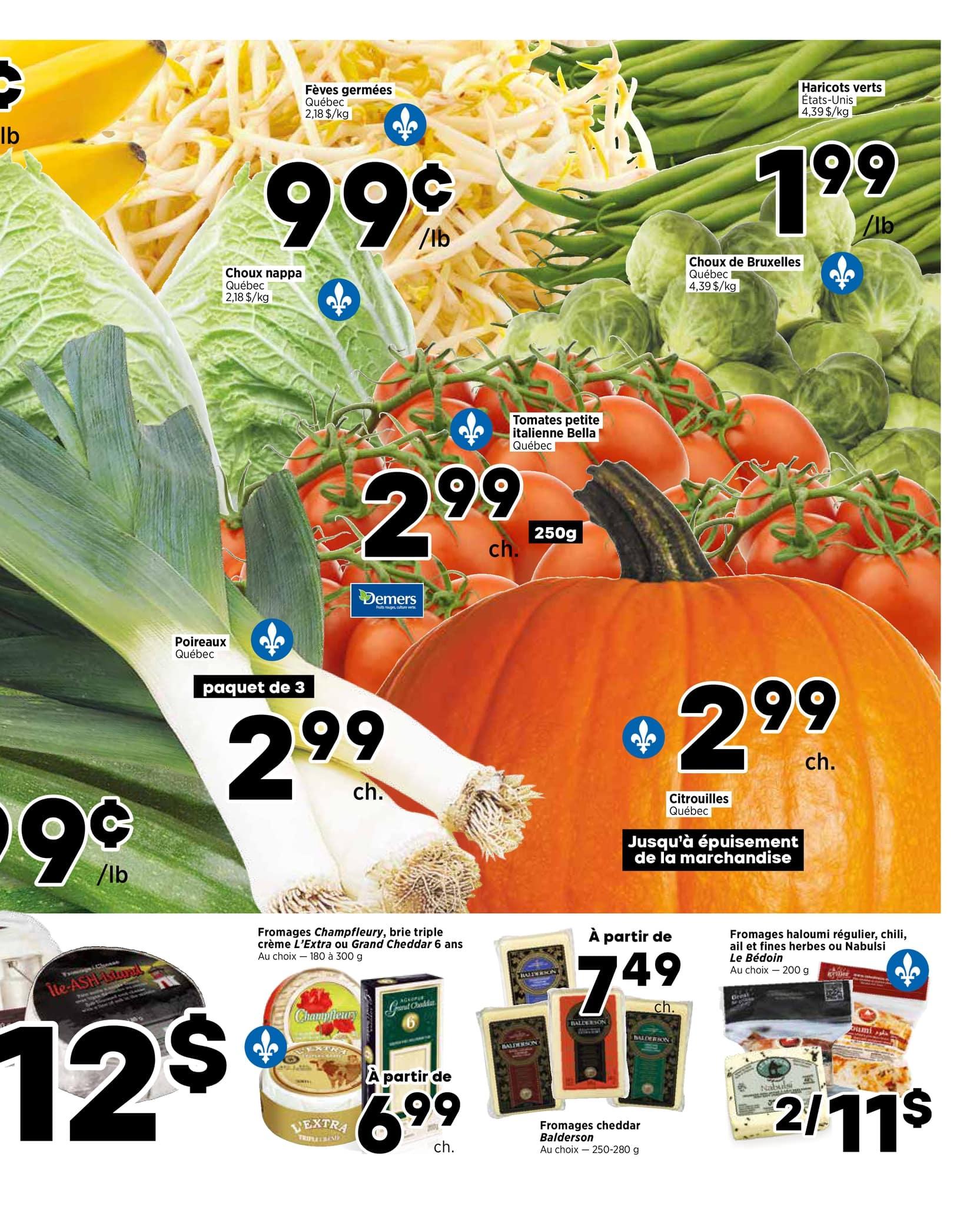 Circulaire Marché Végétarien du 20 au 27 octobre 2021 - Page 3