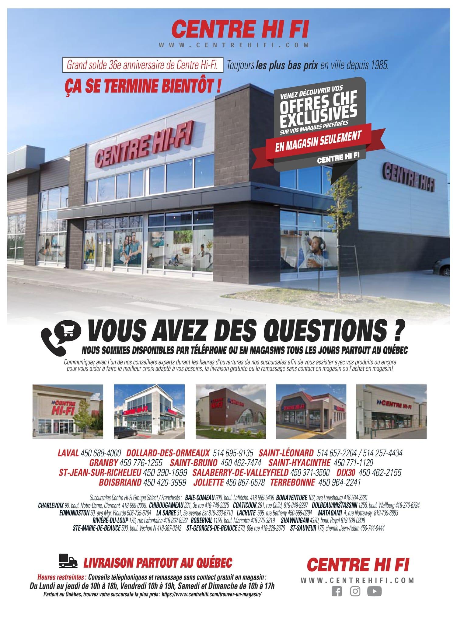 Circulaire Centre HI-FI du 22 au 28 Octobre 2021 - Page 41
