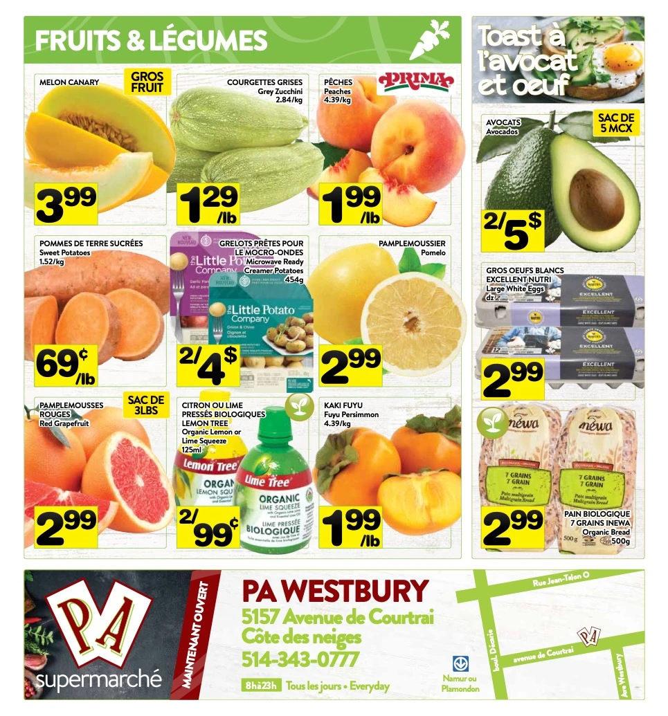 Circulaire Supermarché P.A. du 25 au 31 octobre 2021 - Page 8