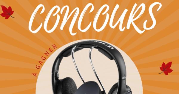 Concours Gagnez un Casque d'Écoute sans fil RS-135 de Sennheiser d'une Valeur de 180$!