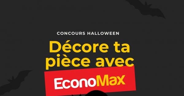 Concours Gagnez l'une des 3 Cartes-cadeaux EconoMax de 300$ chacune!
