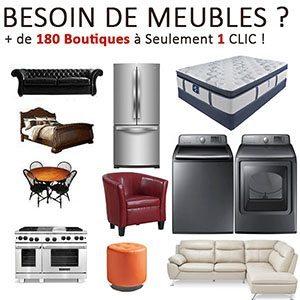 Plus de 180 boutiques de Meubles à portée de Clic