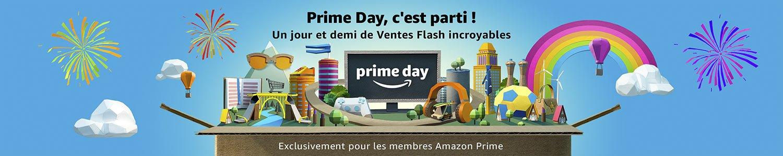 C'est le Prime Day chez Amazon! Le plus gros évènement annuel en ligne