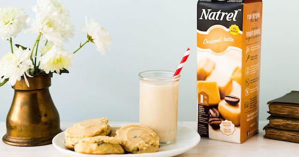 Biscuits Glacés à L'ancienne aux Bananes et aux Pépites de Chocolat