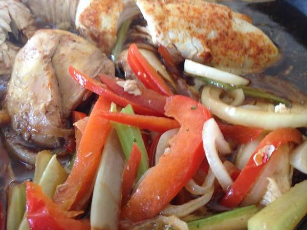 LA cuisson du poulet