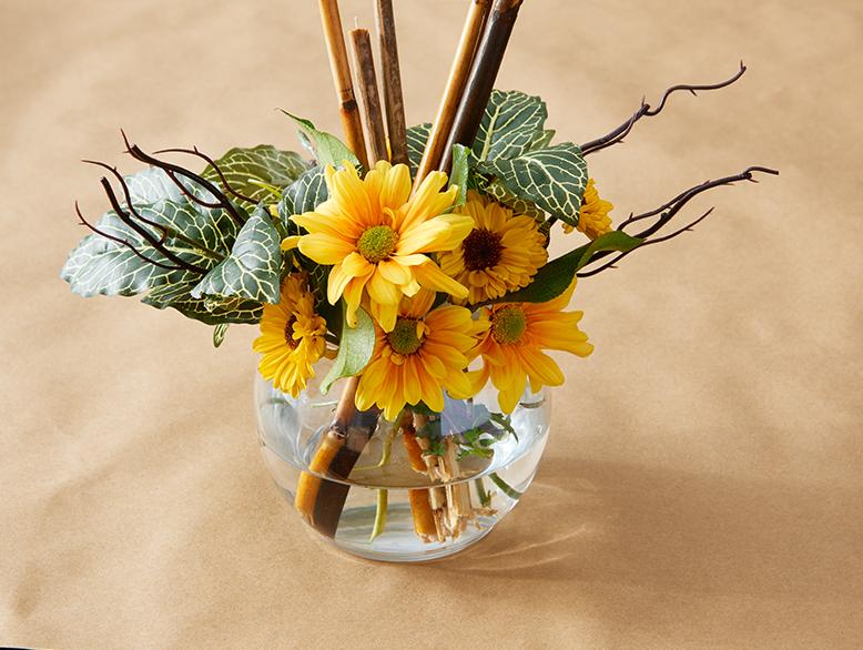 4 idées pour faire un Arrangement Floral pour l'action de Grâce