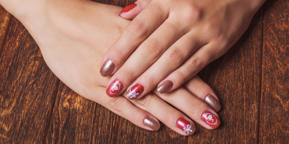 5 Idées de Nail Art pour Noel