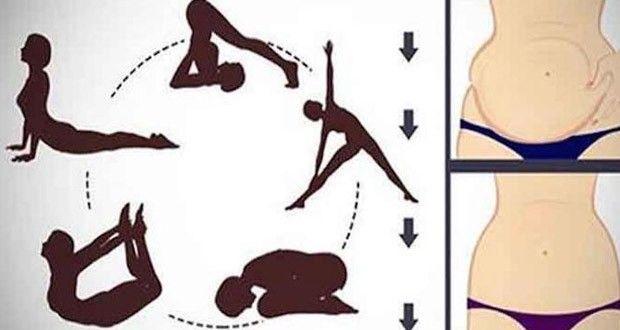 5 Poses de Yoga pour vous Débarrasser de la Graisse Abdominale