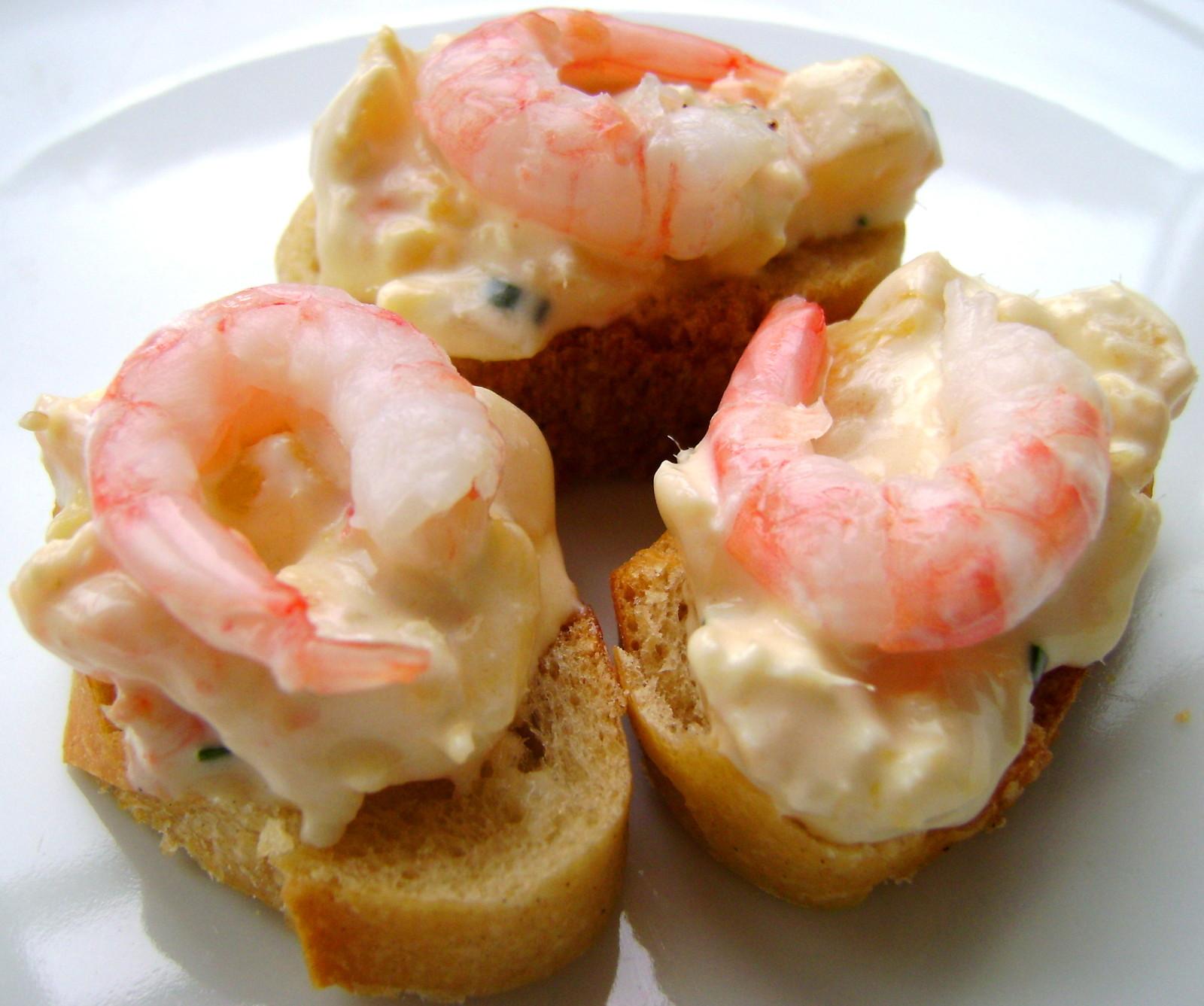 Amuse-Gueule aux Crevettes