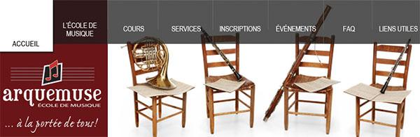Arquemuse École de Musique en ligne