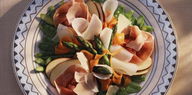 Assiettes Printanières aux Légumes Croquants