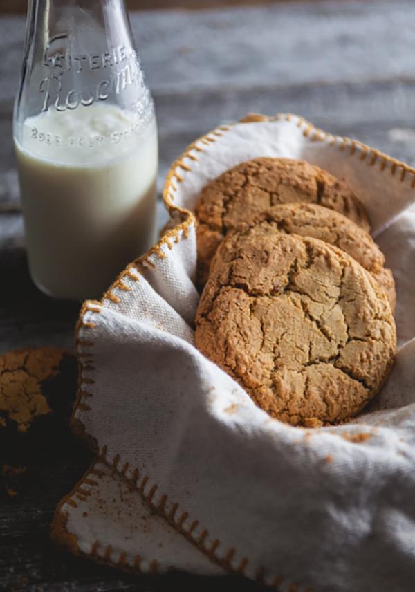 Photo Recette Biscuits Chaï à la Citrouille