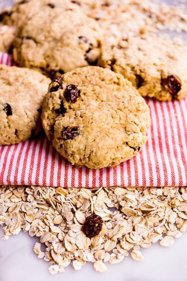 Biscuits D'avoine à L'érable