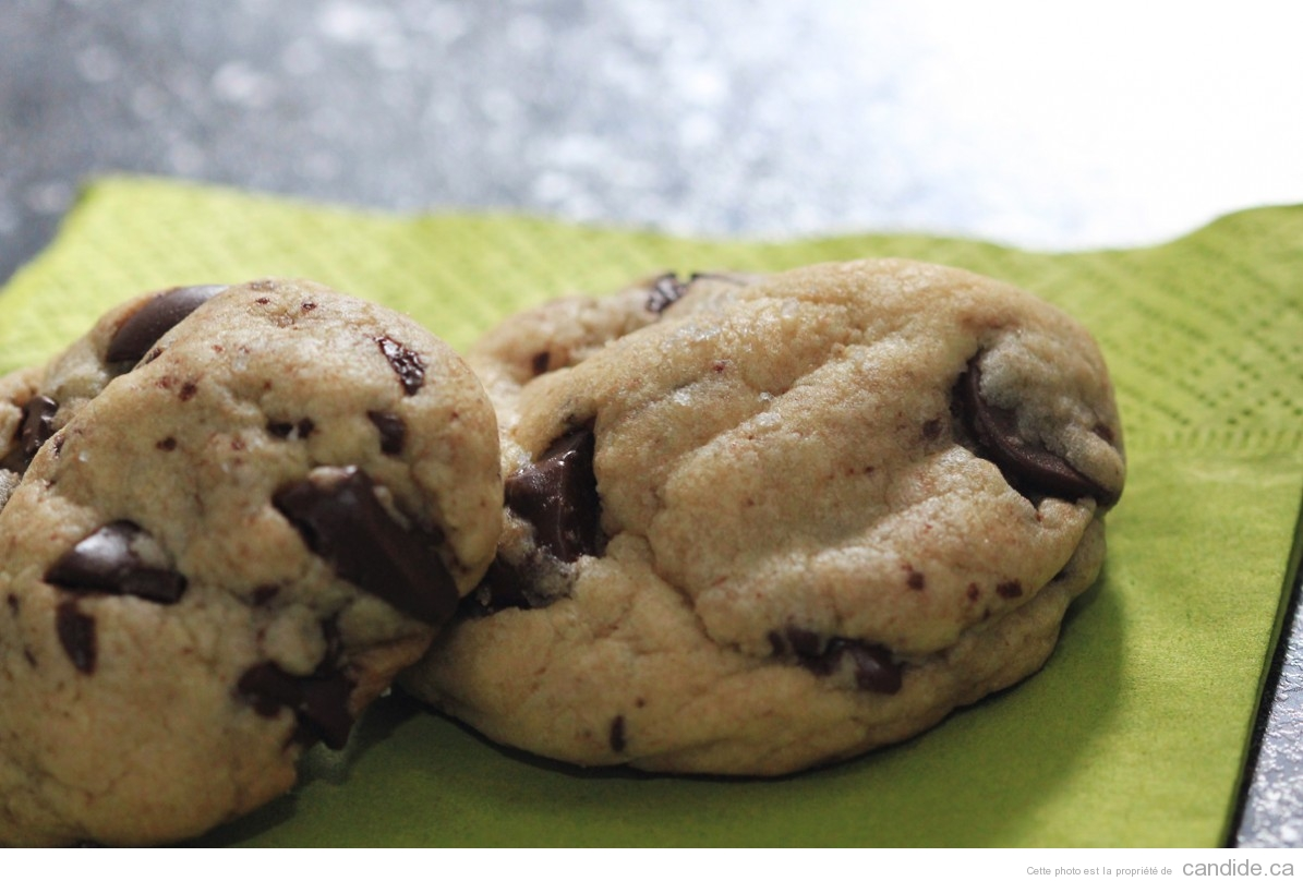 Biscuits Moëlleux aux Grains de Chocolat