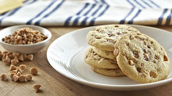 Biscuits au Caramel Salé avec la Pâte à Biscuits aux Possibilités Infinies Becel