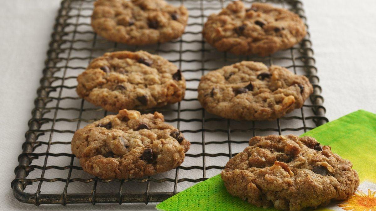 Biscuits aux Grains Entiers aux Grains de Chocolat