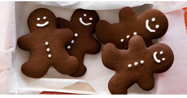 Biscuits en Pain d'épices au Gingembre frais et à l'orange