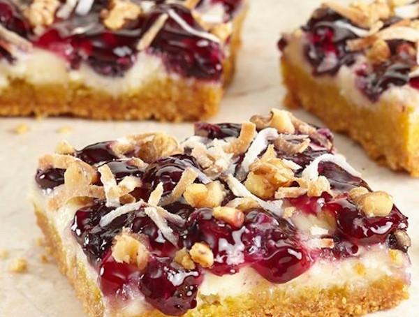 Blueberry Lemon Snack Bars