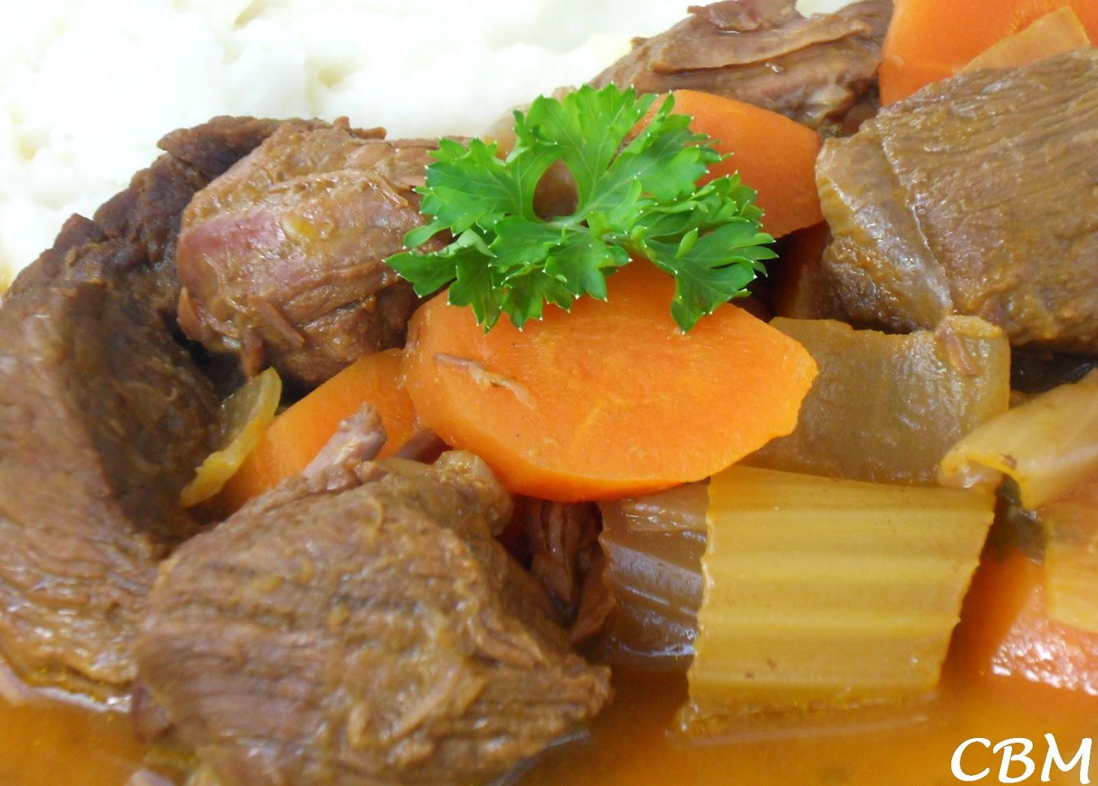 Bœuf au Jus de Carottes (mijoteuse)