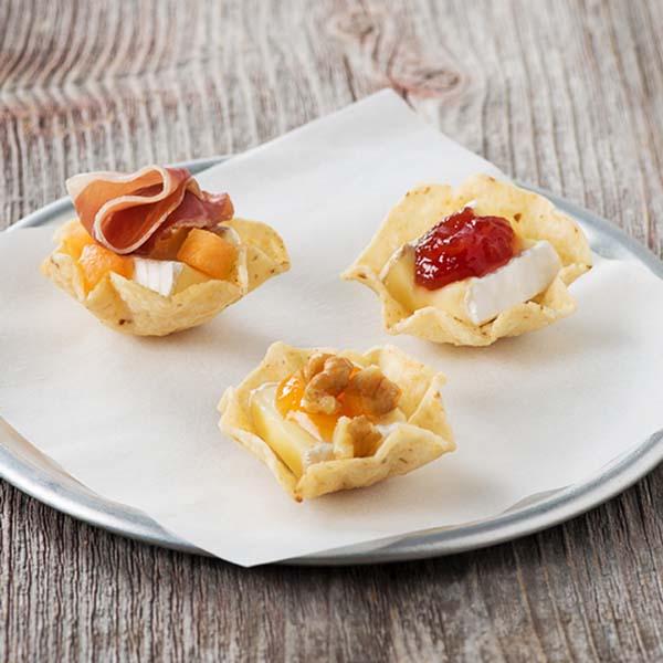 Bouchées de Brie Trois Façons