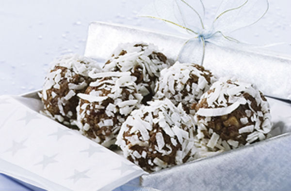 Boules Choco-canneberges