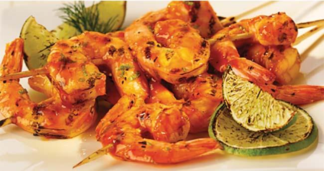 Photo Recette Brochettes de Crevettes Grillées