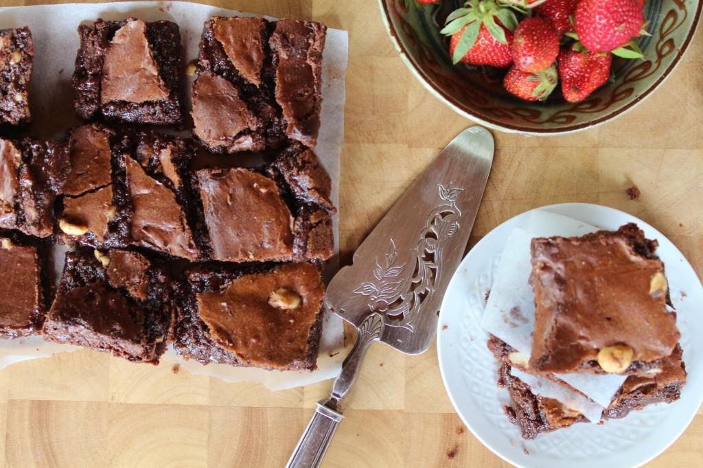 Photo Recette Brownie Chocolat Noisettes sans Farine