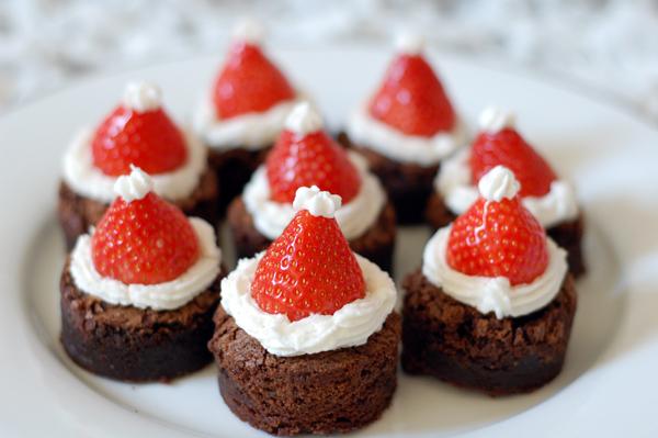 Les brownies du Père Noël