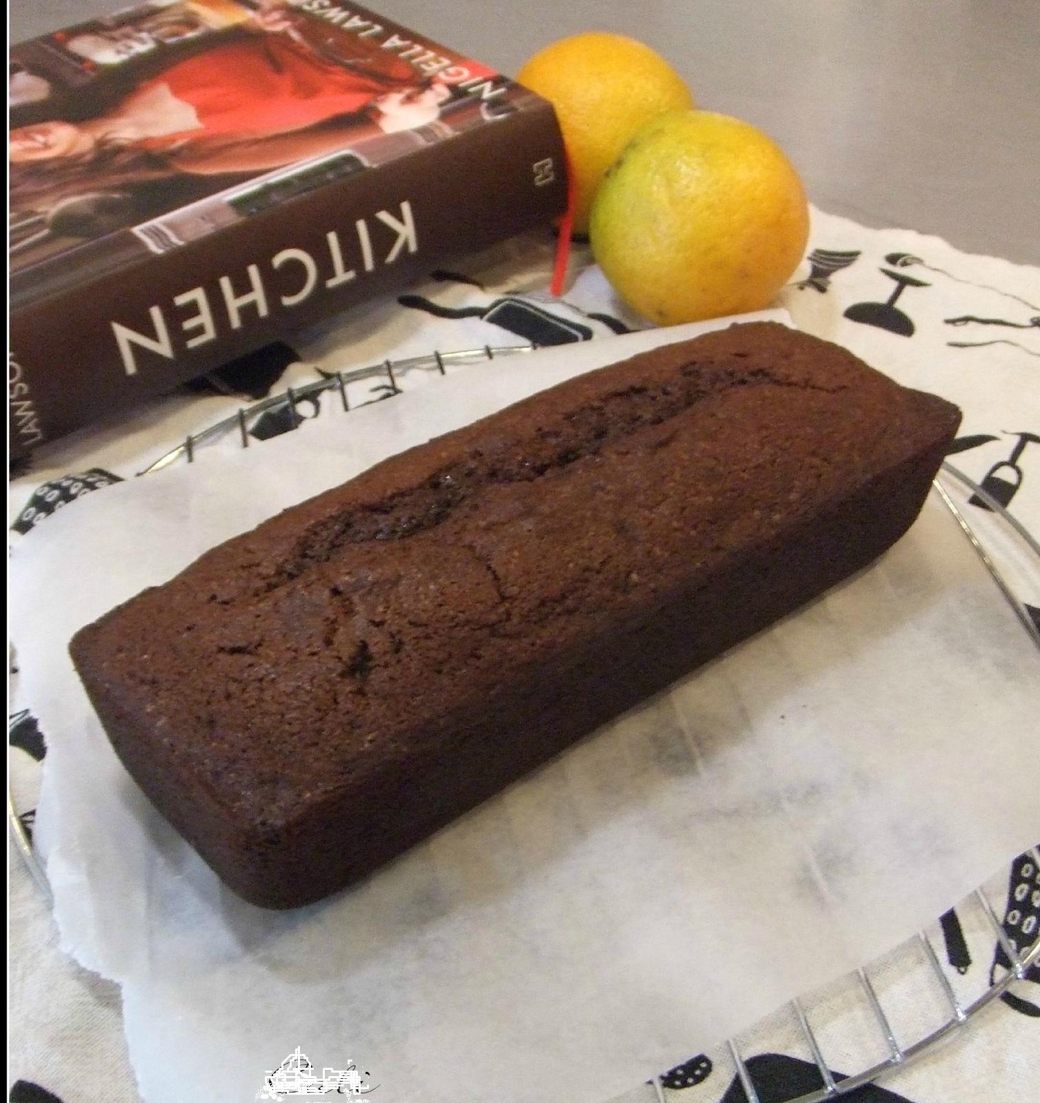 Cake au Chocolat et à L'orange