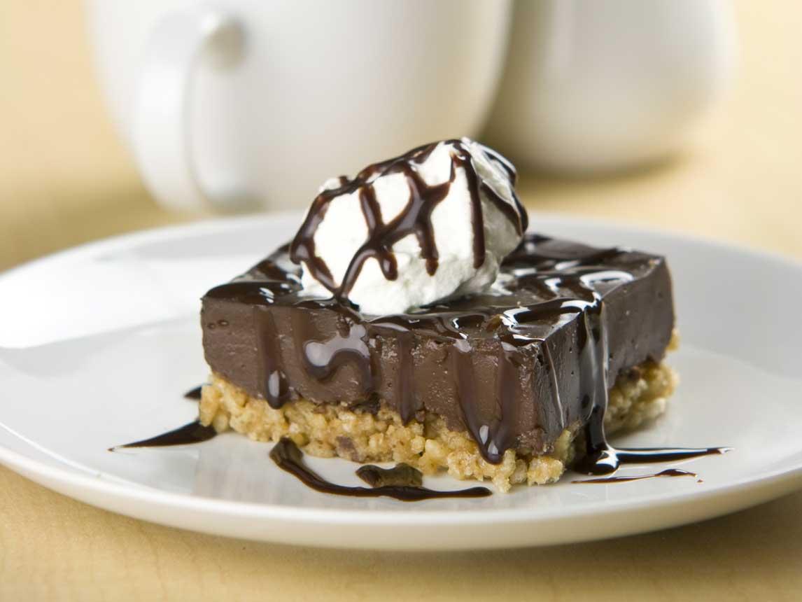 Carrés au Chocolat et au Beurre D'Arachides