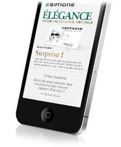 carte cadeau simons v tements hommes et femmes circulaire en ligne. Black Bedroom Furniture Sets. Home Design Ideas