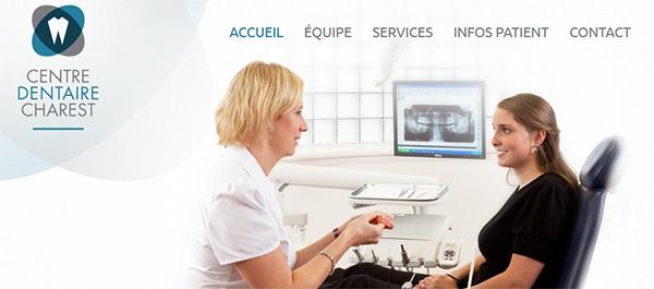 Centre Dentaire Charest en Ligne