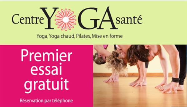 Centre Yoga Santé en Ligne