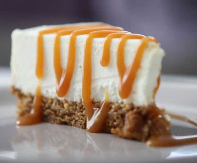 Photo Recette Cheesecake Coulis Caramel