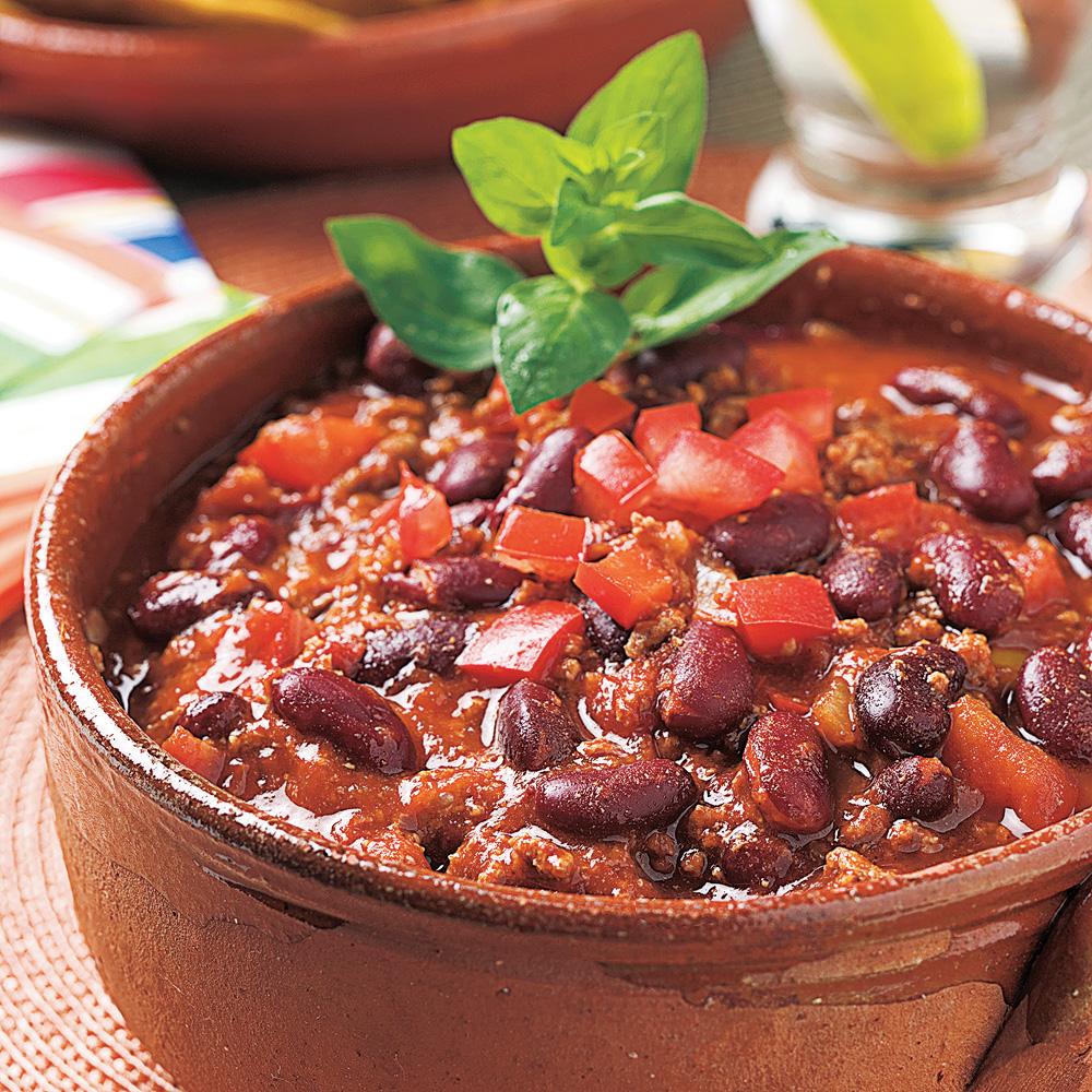 Chili Con Carne à la Mexicaine