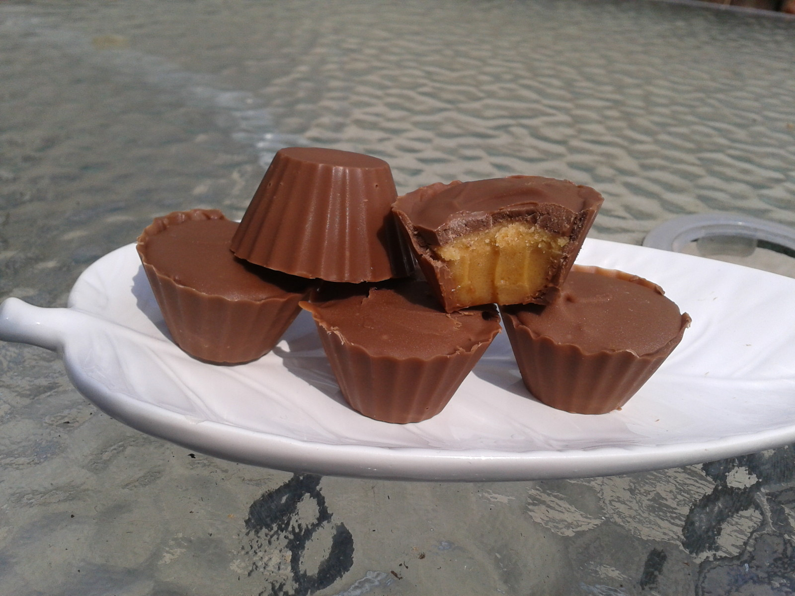 Chocolats au Beurre de Cacahuètes (Reese)