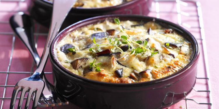 Photo Recette Clafoutis d'aubergine